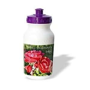 Patricia Sanders Flowers   Valentines Day Red Roses   Water Bottles