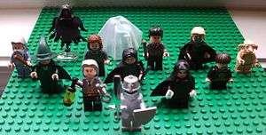 12 HARRY POTTER LEGO MINI FIGS FIGURES KNIGHT FILTCH FLITWICK DEMENTOR