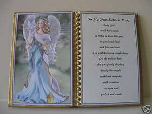 SISTER IN LAW BIRTHDAY GIFT/ CHRISTMAS GIFT/ANGEL& DOVE