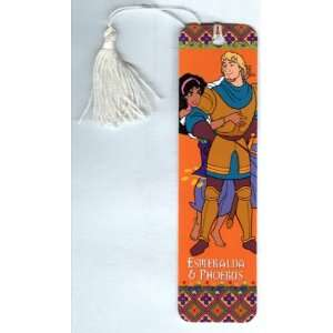 Esmeralda & Phoebus (Tasseled Bookmark) (Disneys The Hunchback of