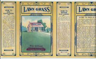 Card Seed Co. Lawn Grass Seed Can Labe Fredonial . N.Y.