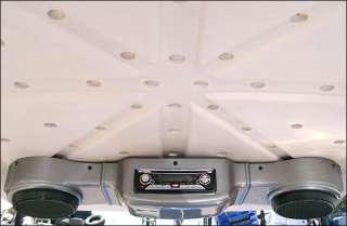 Medalist TXT PDS golf cart overhead radio console wood titanium carbon