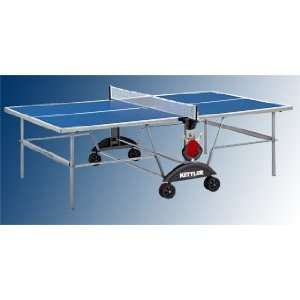 Xl Indoor Blue Ping Pong / Table Tennis Table