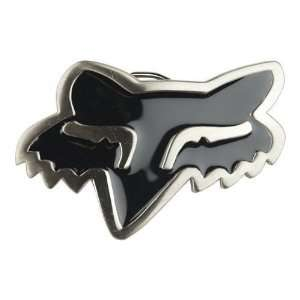 3d FOX RACING Logo Black Fox Head Belt Buckle: Everything