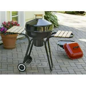 Arctic Kettle Cart BBQ Grill with Table Top Grill Sports