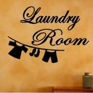 Laundry Room   Vinyl Wall Art Sticker Quotes Home Decor Graphic Decal
