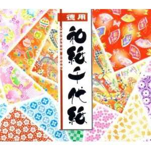 300s Japanese Chiyami origami Paper (3 inch square, one