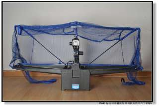 V1 Portable Programmable Table Tennis Robot W/Romote Control & balls
