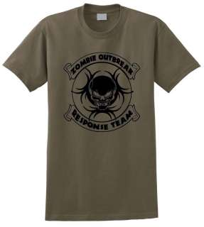 Outbreak Response Team T Shirt Rescue The Walking Dead Apocalypse