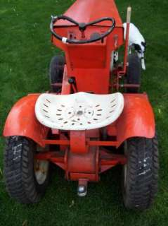 1963 JACOBSON CHIEF RIDING LAWN MOWER / GARDEN TRACTOR NICE!!!