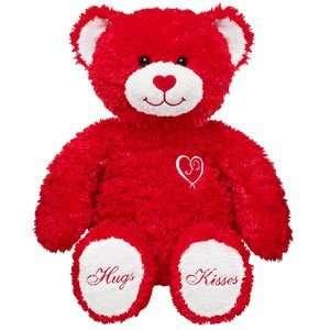 Bear Workshop 15 in. Sweet Hugs & Kisses Teddy Plush Stuffed Animal