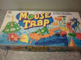 1994 MOUSE TRAP ZANY CRAZY CONTRAPTION GAME EXCELLENT COMPLETE