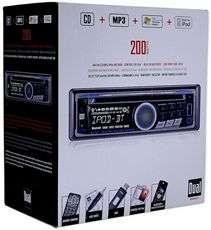 Dual XDMA6415 In Dash Single Din Car AM/FM/CD//WMA Receiver W/ USB