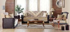 Contemporary Living Room Set (Sofa bed & Loveseat)