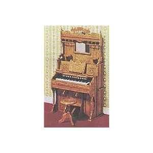 Dollhouse Miniature Pump Organ Furniture Kit