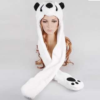 Cosplay Beanie Animal Hat Plush Rave Clothing Kawaii UV