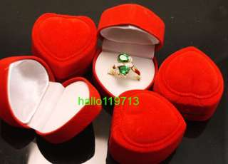 wholesale 48PCS Love heart ring display boxes case