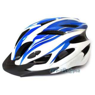 New Cool 18 Vents Sports Bike Bicycle Cycling Blue Helmet 821 Size L