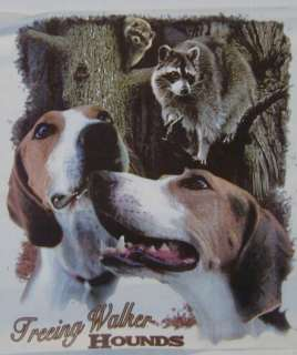 TREEING WALKER HOUNDS COON HUNTING SHIRT