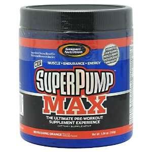 Gaspari Nutrition SuperPump MAX Orange 10 Servings Health