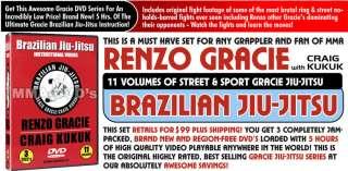 Renzo Gracies Gracie Jiu Jitsu Best Seller, Brazilian Jiu Jitsu
